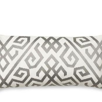 Ikat Geometric Pillow Cover, Williams-Sonoma