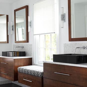 Floating Bathroom Vanity, Contemporary, bathroom, BHG