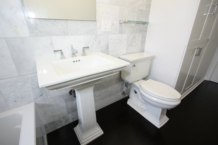 Kohler Tresham Pedestal Sink Design Ideas