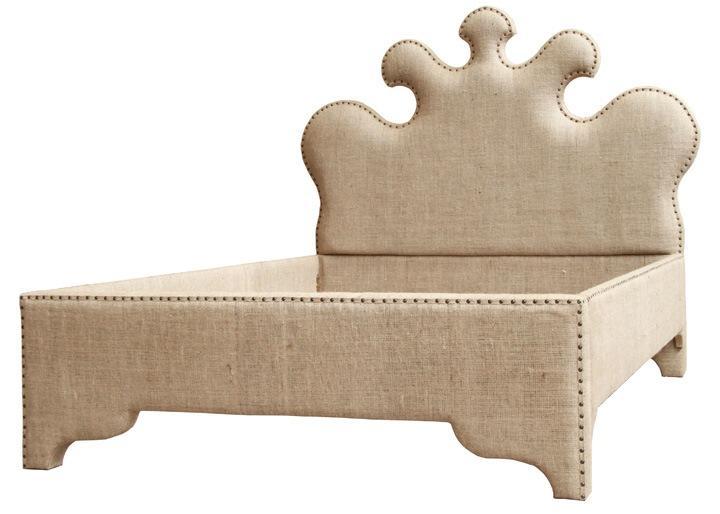 furniture burlap bed stylish home furniture m