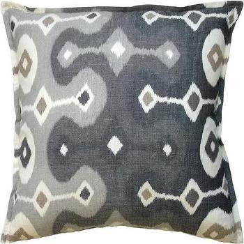 Darya Ikat Pillow I Tonic Home