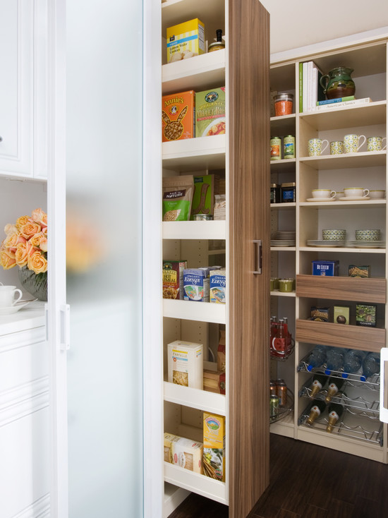 Pull Out Pantry Cabinets View Full Size