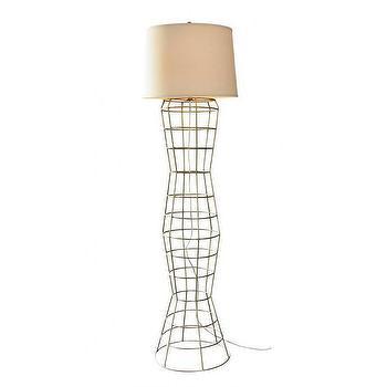 Mr Brown Marcello Floor Lamp, Shop Candelabra