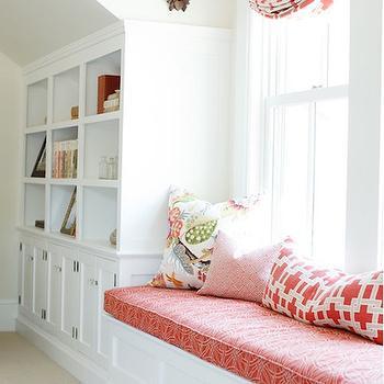 Reading nook ideas transitional bedroom jeffrey alan Built in reading nook