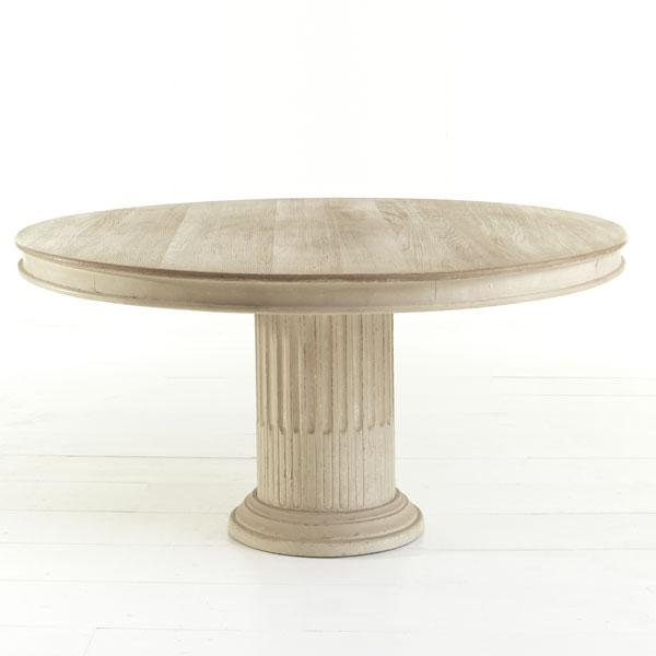 column pedestal dining table wisteria