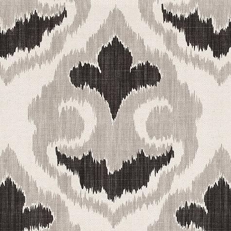 Florentina Ikat Gray Fabric By The Yard Ballard Designs