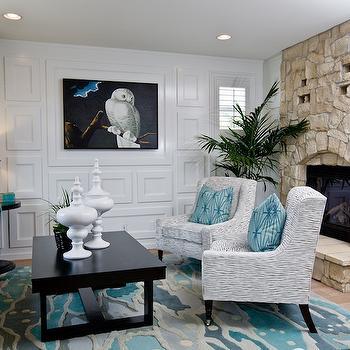 Turquoise Velvet Tufted Sofa, Contemporary, living room, Lulu Designs