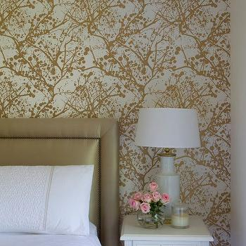 Ferm LIVING Wilderness Wallsmart Wallpaper, Contemporary, bedroom, Camilla Molders Design