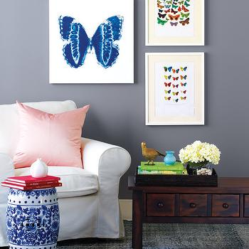 Butterfly Art Gallery, Eclectic, entrance/foyer, Style at Home