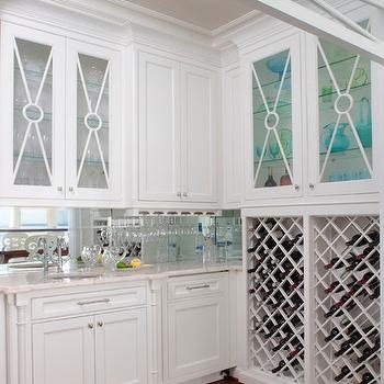 Built In Wine Rack, Cottage, kitchen, Marianne Jones