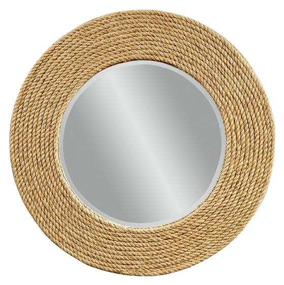 Super Round Rope Mirror - Look 4 Less and Steals and Deals. HV78