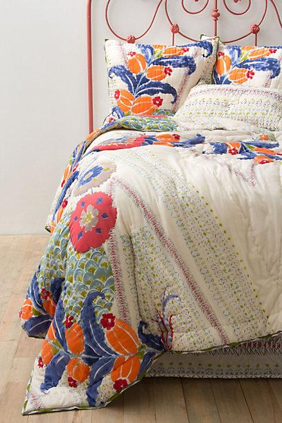 Saray Quilt I Anthropologie Com