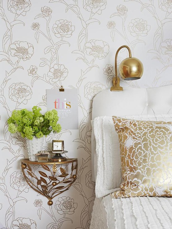 white and gold bedroom eclectic bedroom society social