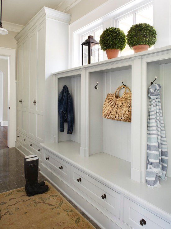 Mud Room Lockers Cottage Laundry Room Farrow Ball
