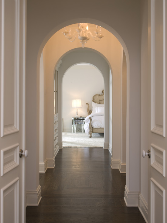 Arched Corridor Traditional Bedroom John Kraemer And