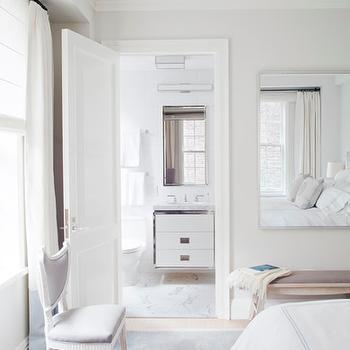 Floating Bathroom Vanity, Contemporary, bedroom, Philip House NYC