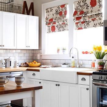 White and Taupe KItchen, Cottage, kitchen, HGTV