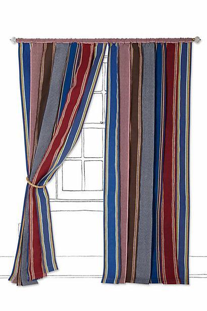 Vintage Canvas Stripe Curtain I Anthropologie com. Canvas Stripe Curtain I Anthropologie com
