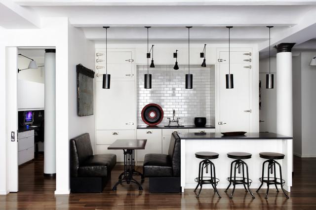Loft Kitchen Design Modern Kitchen Schappacher White