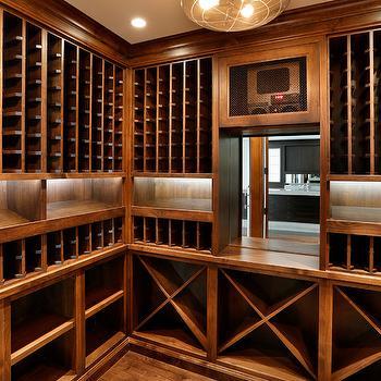 Under cabinet lighting design ideas for Wine cellar lighting ideas