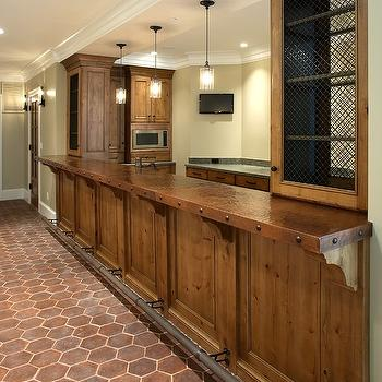 Hammered Copper Countertops