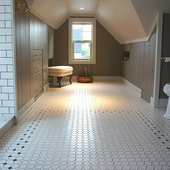 Attic Bathroom, Vintage, bathroom, Chic Design Investments