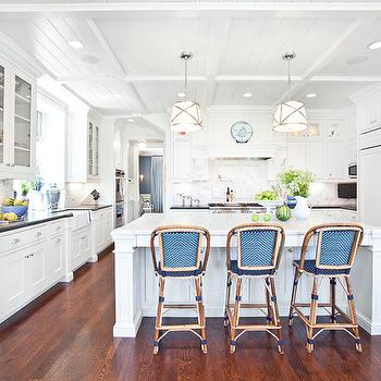 French Cafe Barstools, Transitional, kitchen, Markay Johnson Construction