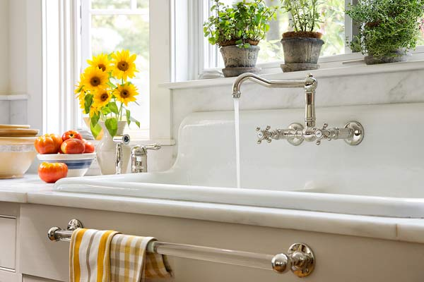 Vintage Farmhouse Kitchen Sink : use arrow keys to view more kitchens swipe photo to view more kitchens
