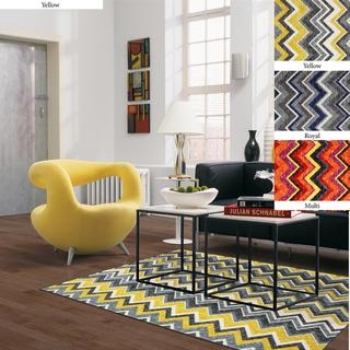 Ziggy Chevron Area Rugs Overstockcom