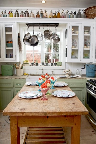 Beadboard Backsplash Cottage Kitchen Bhg