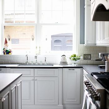 Rustic Kitchen Floor, Transitional, kitchen, Rue Magazine