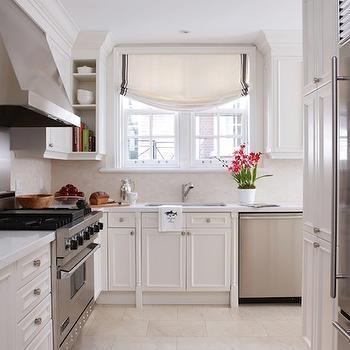 Staggered Kitchen Tile Floor, Traditional, kitchen, Anne Hepfer Designs