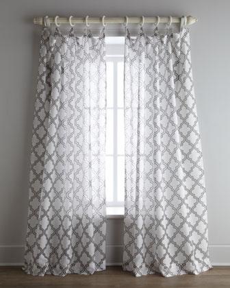 Moorish Tile Curtains