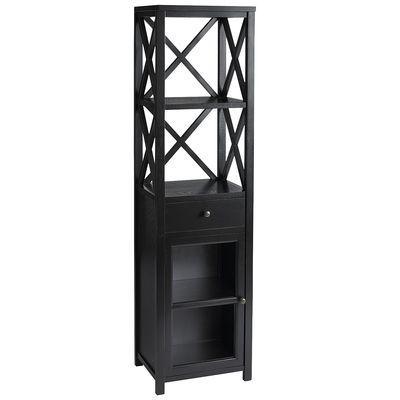 Tall Cabinet Shelf - Black I Pier 1