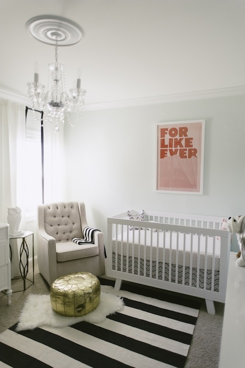 Mint Green Paint Color Contemporary Nursery Sherwin