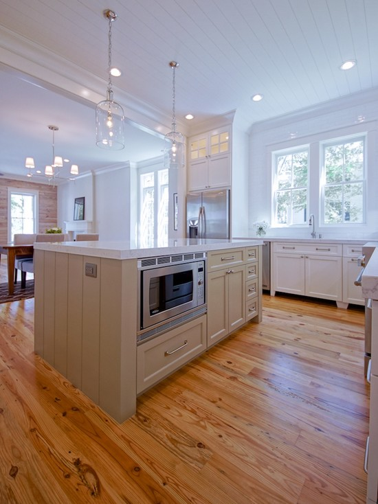 Taupe Kitchen Island Cottage Kitchen Melissa Lenox