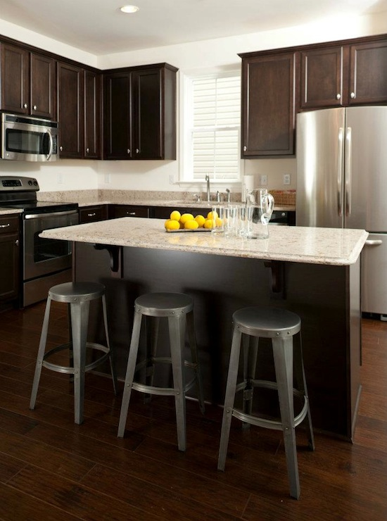 Espresso-Cabinets - Transitional - kitchen - Sabal Homes SC