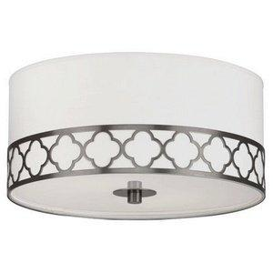 Khaki Navy Drum Flush Mount Light Pottery Barn Kids