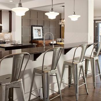 Toilx Bar Stools, Contemporary, kitchen, Sabal Homes