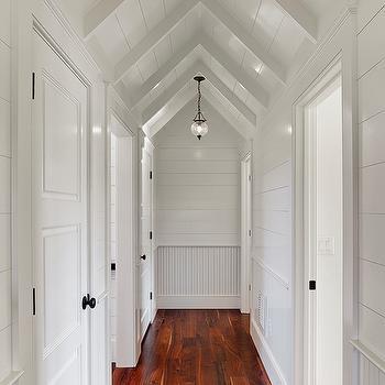 Vaulted Ceiling Corridor
