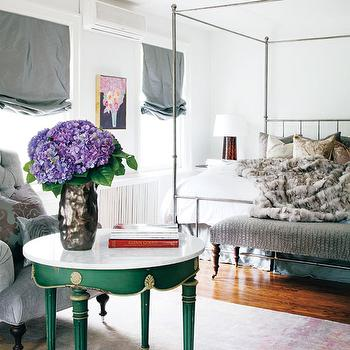 Canopy Bed, Eclectic, bedroom, Style at Home