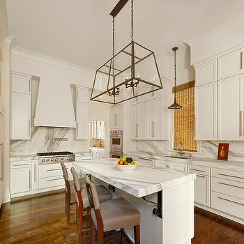 Calcutta Marble Countertops, Transitional, kitchen, Structures Building Company