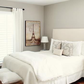 Sherwin Williams Amazing Gray, Transitional, bedroom, Sherwin Williams Amazing Gray, Brunch at Saks