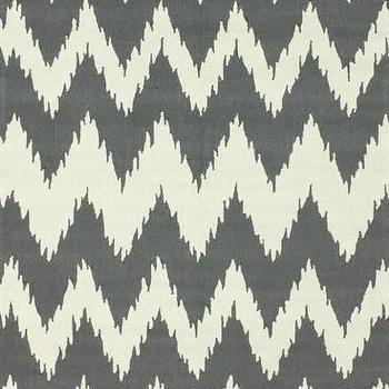 Delhi Chevron Area Rug in Soft Grey design by NuLoom, Burke Decor