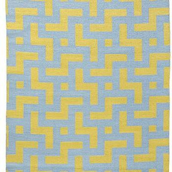 Medievil Area Rug in Sage and Mustard, Burke Decor