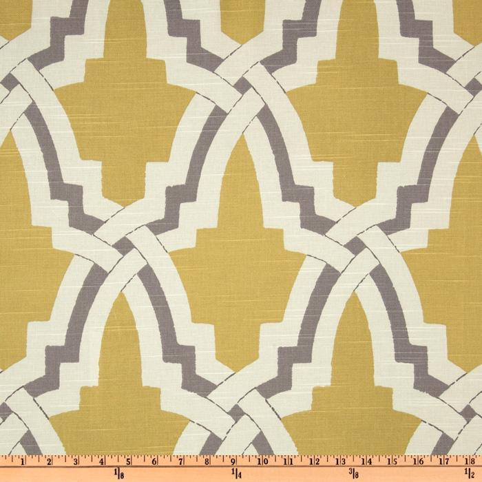 Trellis Fabric summer palace gray white trellis fabric