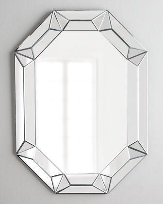 Regina Andrew Design Elongated Octagonal Mirror