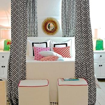 Canopy Bed Panels, Contemporary, bedroom