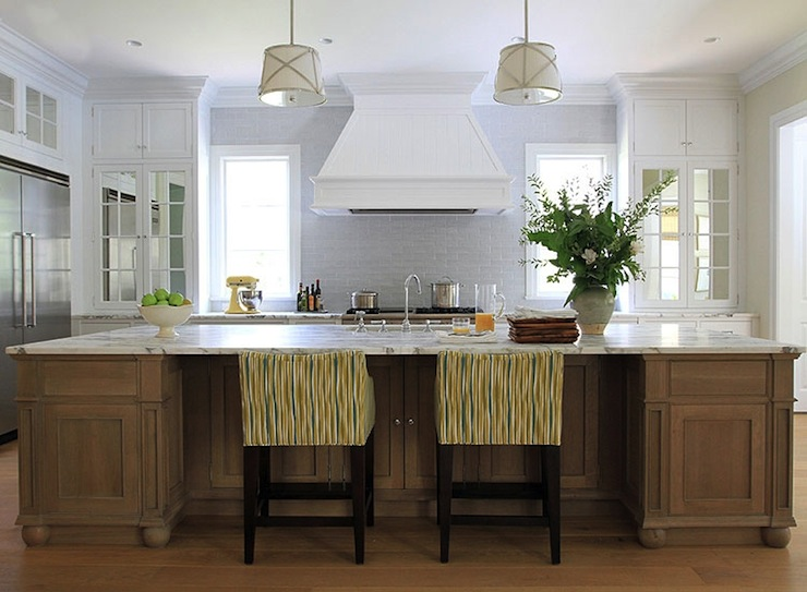 Grosvenor Single Pendant Cottage Kitchen Benjamin Moore White Diamond Andrew Howard