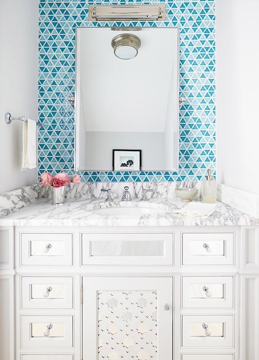 mirrored bathroom vanity contemporary bathroom andrew howard